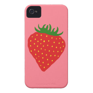 Simply Strawberry custom color iPhone case