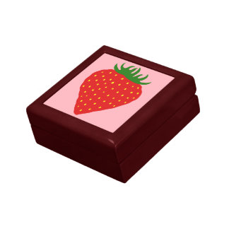 Simply Strawberry custom gift / jewelry box