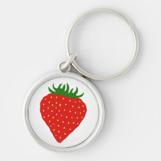 Simply Strawberry custom key chain