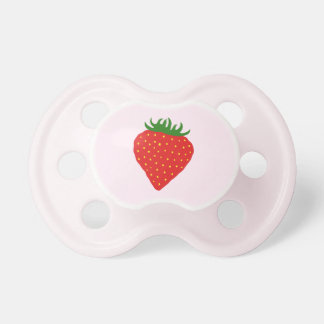 Simply Strawberry custom pacifier