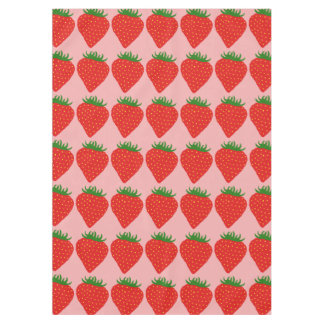 Simply Strawberry custom table cloths