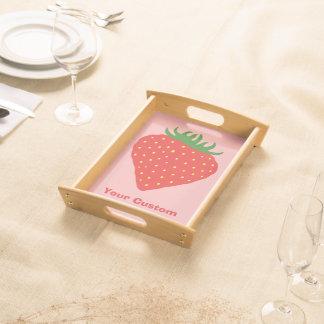 Simply Strawberry custom trays