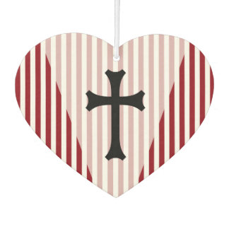 Simply Symbols - CHRISTIAN CROSS + your ideas Car Air Freshener