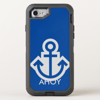 Simply Symbols / Icons - ANCHOR + ideas OtterBox Defender iPhone 8/7 Case