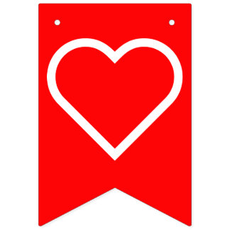 Simply Symbols / Icons - HEART + ideas Bunting