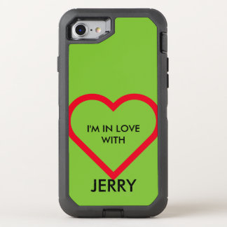 Simply Symbols / Icons - HEART + ideas OtterBox Defender iPhone 8/7 Case