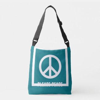 Simply Symbols / Icons - PEACE + ideas Tote Bag