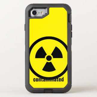 Simply Symbols / Icons - radioactive + ideas OtterBox Defender iPhone 7 Case
