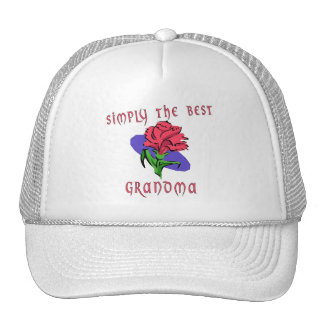 Simply The Best - Grandma Cap