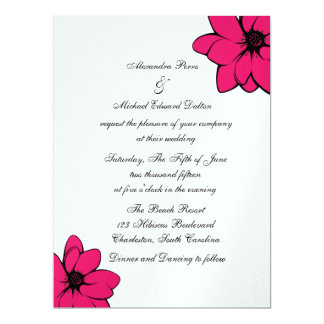 Simply Tropical Flowers On Ice Card
