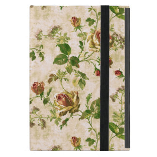 Simply Vintage Antique Cottage Roses Case For iPad Mini