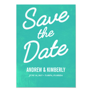 Simply Whimsical • Save the Date 13 Cm X 18 Cm Invitation Card