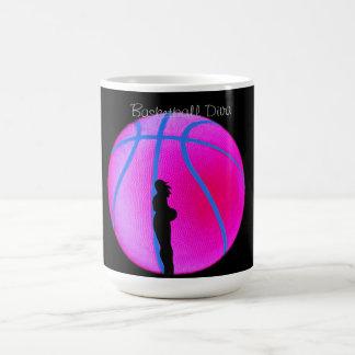SimplyTonjia B-Ball Diva on Black Mug