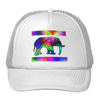 SimplyTonjia Pink Tail  Elephant Trucker Hat