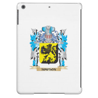 Simpson Coat of Arms - Family Crest Cover For iPad Air