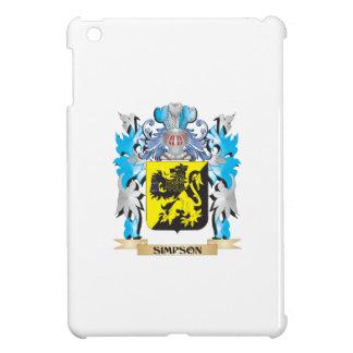 Simpson Coat of Arms - Family Crest Case For The iPad Mini