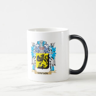 Simpson Coat of Arms - Family Crest Coffee Mugs