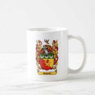 Simpson Crest - Coat of Arms Basic White Mug