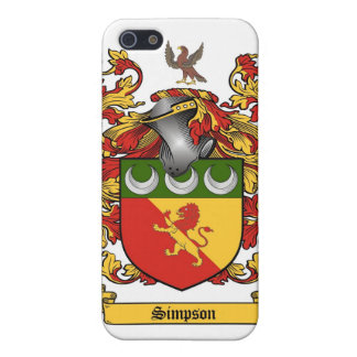 Simpson Crest - Coat of Arms cover Cover For iPhone 5/5S