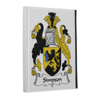 Simpson Family Crest iPad Cases