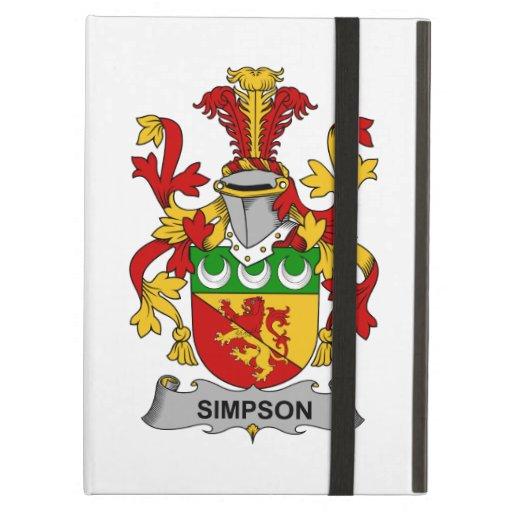 Simpson Family Crest iPad Folio Cases