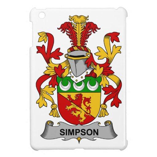Simpson Family Crest Case For The iPad Mini