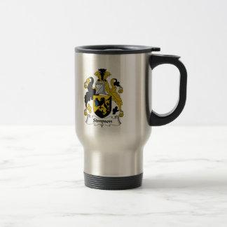 Simpson Family Crest Stainless Steel Travel Mug