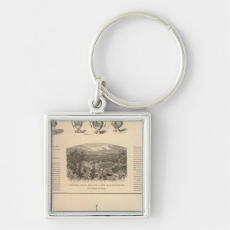 Simpson, Hall, Miller and Traveler's Company Key Ring