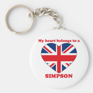 Simpson Key Chain