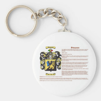 simpson (meaning) basic round button key ring