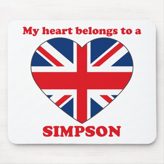 Simpson Mouse Mat