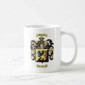 simpson mug