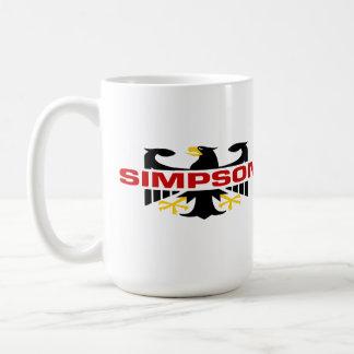 Simpson Surname Mugs
