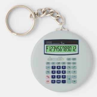 Simulated Calculator Keychain