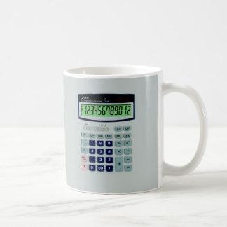 Simulated Calculator Mugs