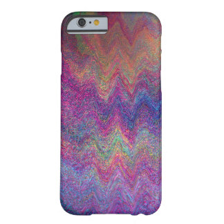 Simulated Metallic Paint Multi-coloured Barely There iPhone 6 Case