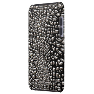 Simulated Silver Beaded Texture #2s Barely There iPod Case
