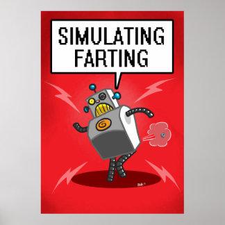 Simulating Farting Poster