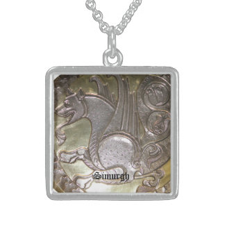 Simurgh Sterling Silver Necklace
