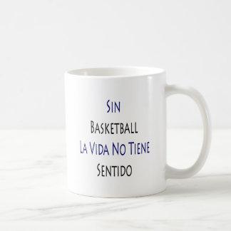 Sin Basketball La Vida No Tiene Sentido Mug