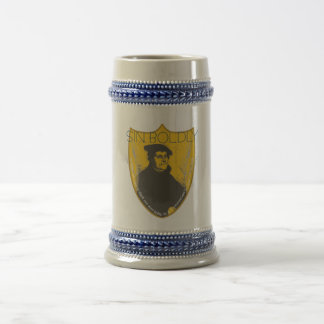 Sin Boldly - Martin Luther Beer Stein Beer Steins