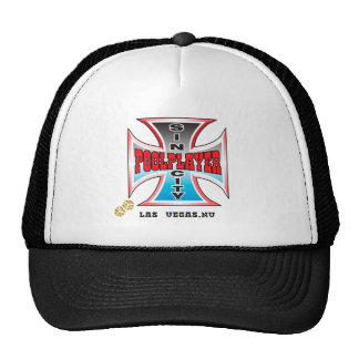 Sin City Pool Player Cap