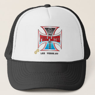 Sin City Pool Player Trucker Hat