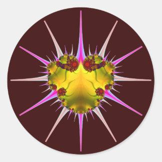 Sin Nombre Bug Round Sticker