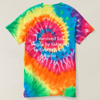 Sin Pool City  Men's Tie Dye T-Shirt