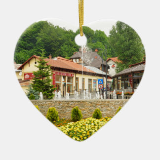 Sinaia, Romania Christmas Ornament