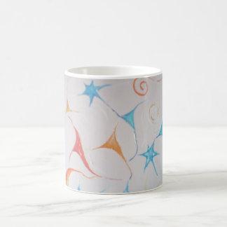 sinapses estrelares classic white coffee mug