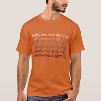 Since1975 Full Front Logo T-Shirt