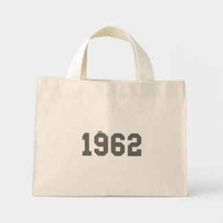 Since 1962 mini tote bag