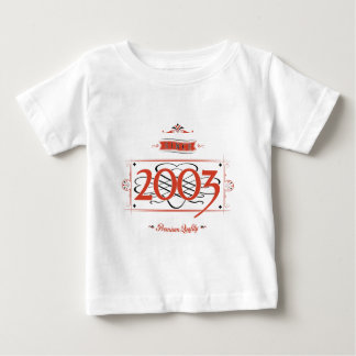 Since 2003 (Red&Black) Baby T-Shirt